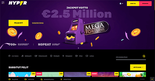 Hyper Casino recension