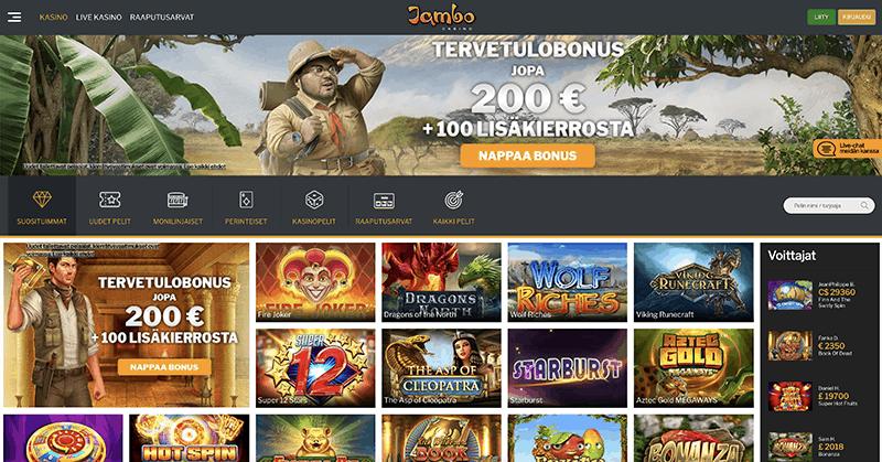 Jambo Casino recension