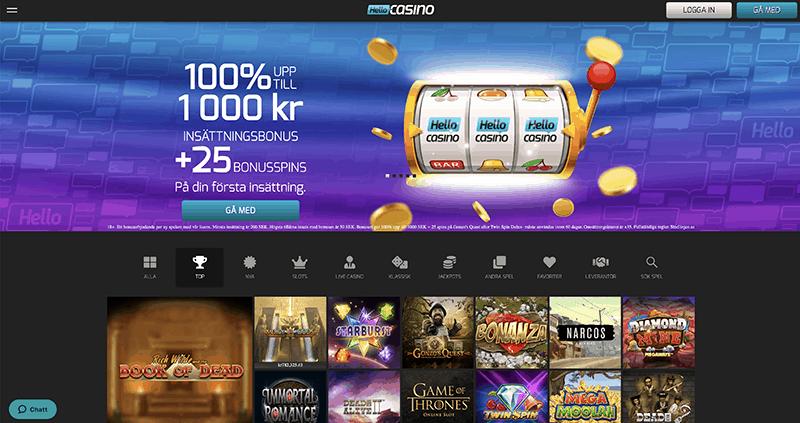 Hello Casino recension