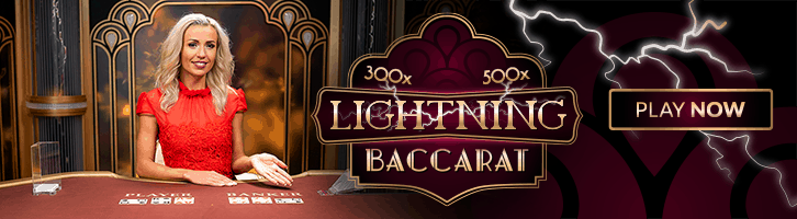 Live casino lightning baccara