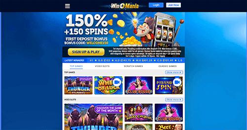 Winomania Casino recension