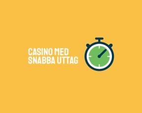 Vi hjälper dig hitta rätt Casino med snabba uttag