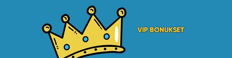 VIP casinobonukset ovat yleensä kuninkaallisia