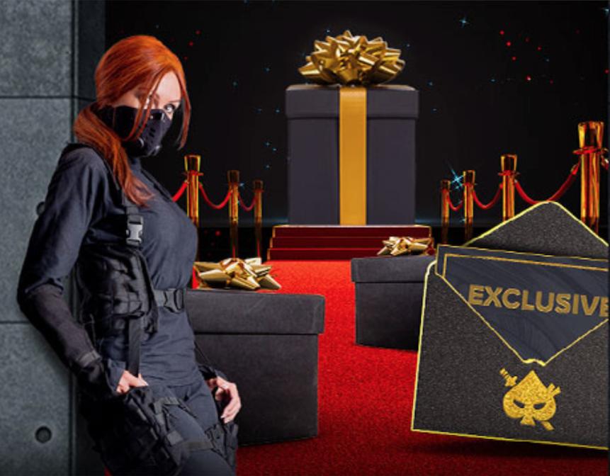 NinjaCasino VIP ohjelmassa punainen matto rullataan eteesi ja saat lahjoja ja bonuksia joita ninjatar tarjoaa