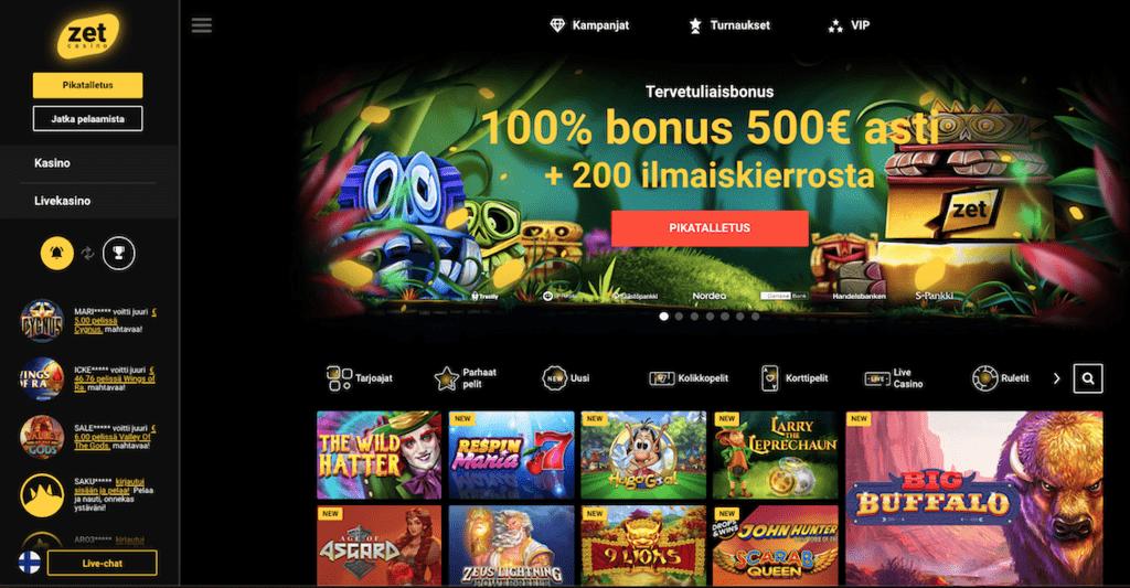 Zet Casino recension