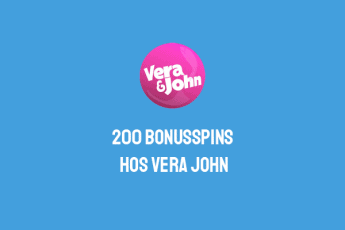 200 bonusspins på casinot VeraJohn