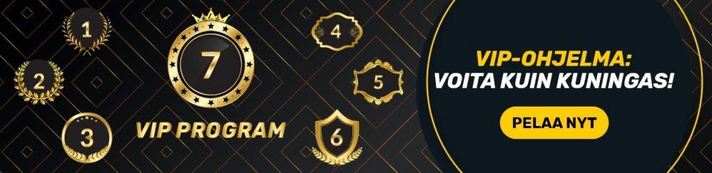 Campeonbet VIP casino-ohjelma ja 7 eri vippi-tasoa