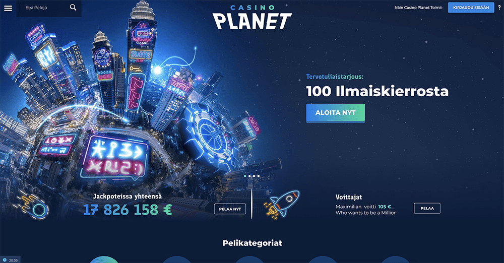 Casino Planet recension