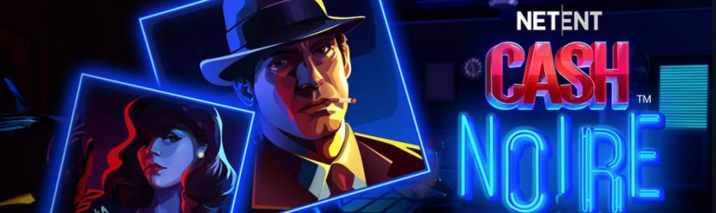 Frank kasino netent cash noire banneri ja perinteinen mafia gangsteri sekä nainen