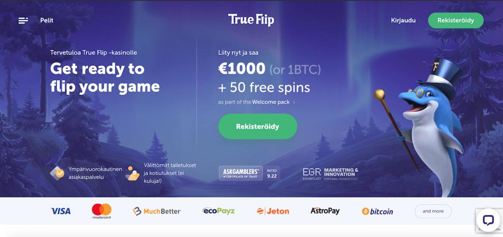 TrueFlip casino recension