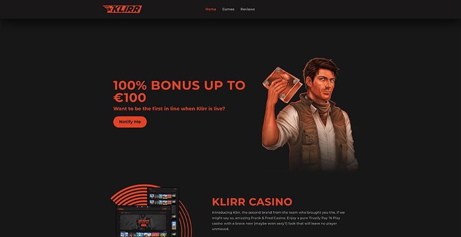 Klirr Casino recension