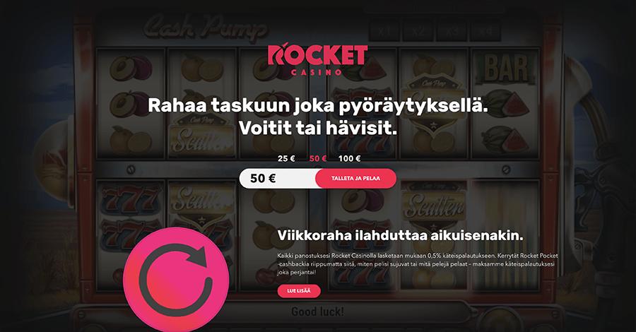 Rocket Casino recension