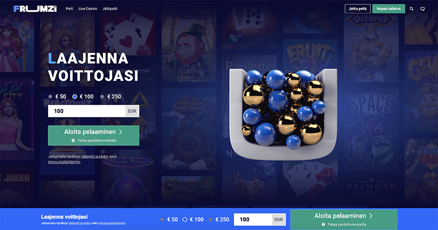 Frumzi Casino recension