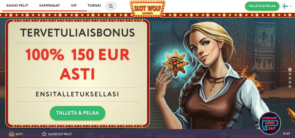 SlotWolf Casino recension