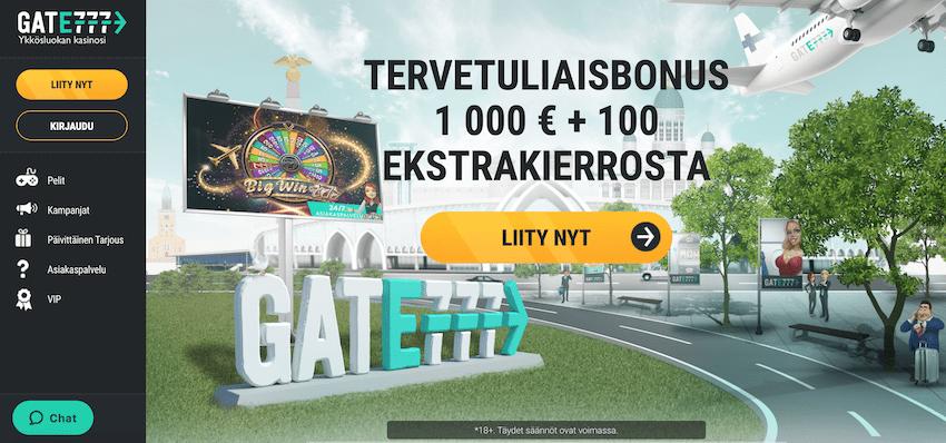 Gate777 Casino recension