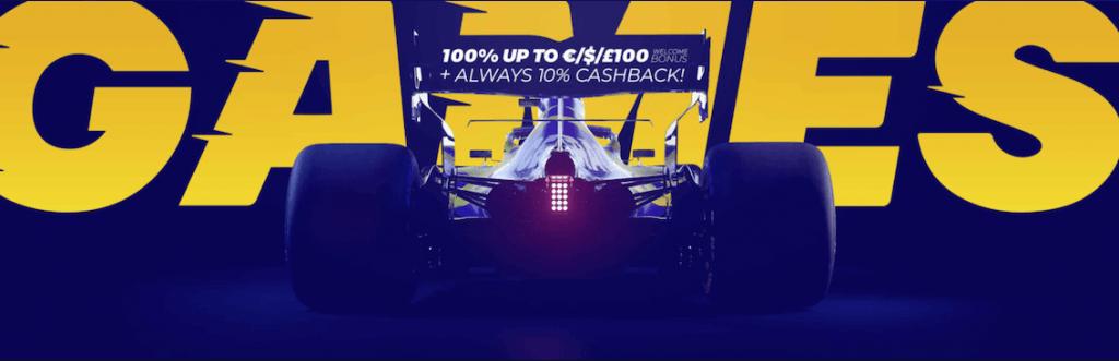 Racecasino bonus tarjoaa vauhdikkaat pelikokemukset