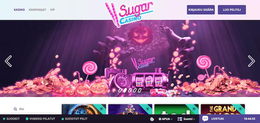 Sugar Casino recension