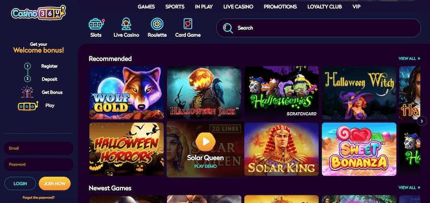 Casino360 recension