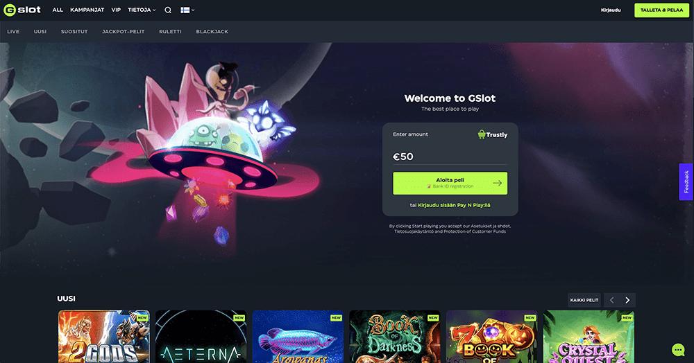 GSlot Casino recension