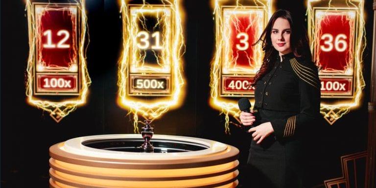 Spela lightning roulette på svenska nätcasino
