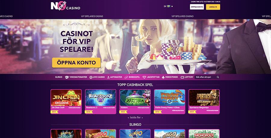 No Bonus Casino recension